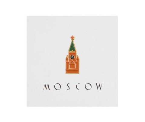 Значок металлический Спасская башня