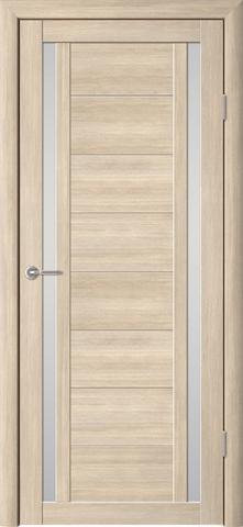 Дверь ALBERO Рига (лиственница мокко, остекленная экошпон), фабрика Фрегат