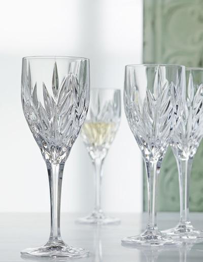Набор из 4 хрустальных фужеров для вина IMPERIAL, 240 мл imperial plus набор фужеров 6шт вино 315мл 4 64 pasabahce 4 1063139