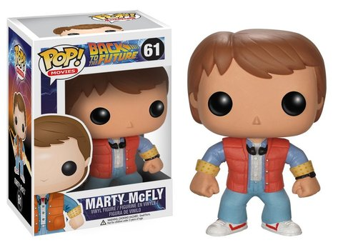 Фигурка Funko POP! Vinyl: BTTF: Marty McFly 3400