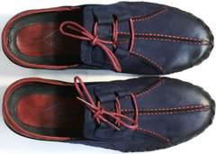 Молодежные мужские туфли мокасины Luciano Bellini 23406-00 LNBN.
