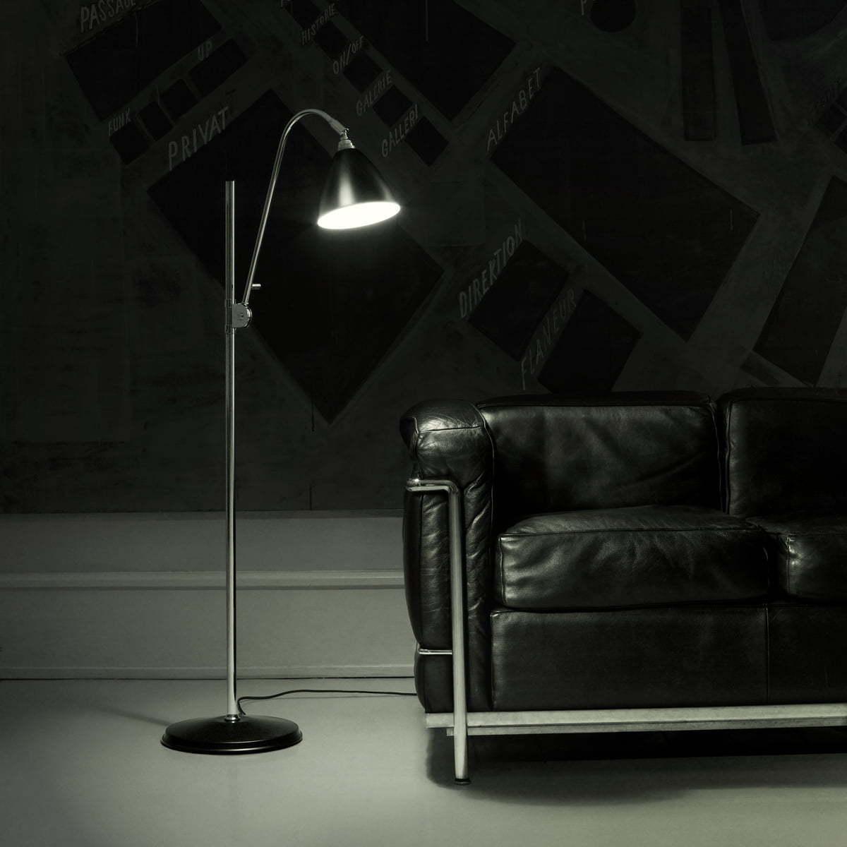 Напольный светильник копия Bestlite BL1 by Gubi (белый)