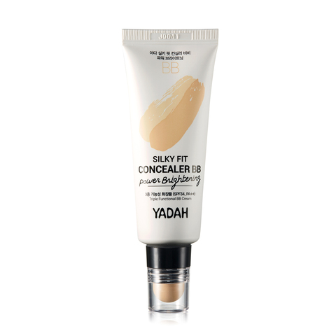 YADAH ЯДХ Крем ББ - консилер YADAH SILKY FIT CONCEALER BB POWER BRIGHTENING 35мл