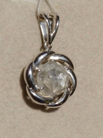 Аманда-берилл  (кулон из серебра)