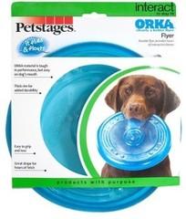"Игрушка для собак Petstages ""ОРКА летающая тарелка"" 22 см"