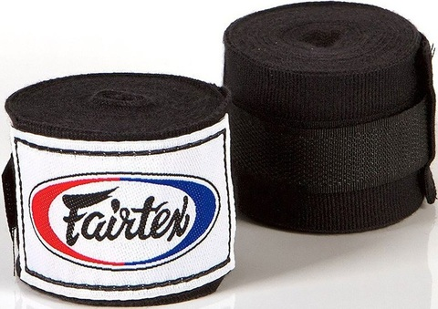 Бинты Fairtex Handwrap HW2 Black 4.5м