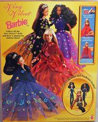 Барби Коллекционная Barbie 1998 Very Velvet