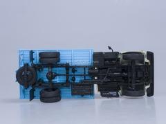 GAZ-33073 cargo taxi engine ZMZ-513 beige-blue AutoHistory 1:43