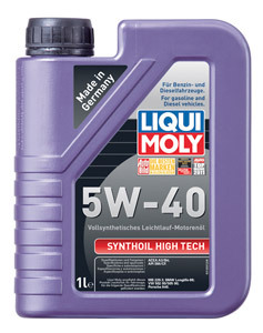 Liqui Moly Synthoil High Tech 5W40 Синтетическое моторное масло