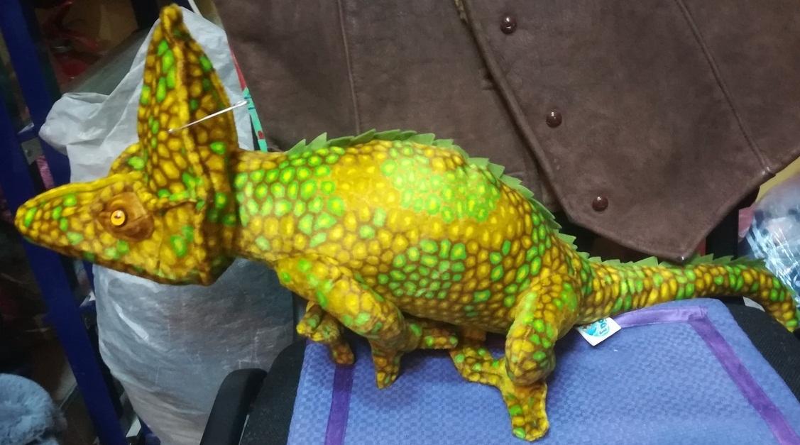 Пятнистый динозавр 45 СМ