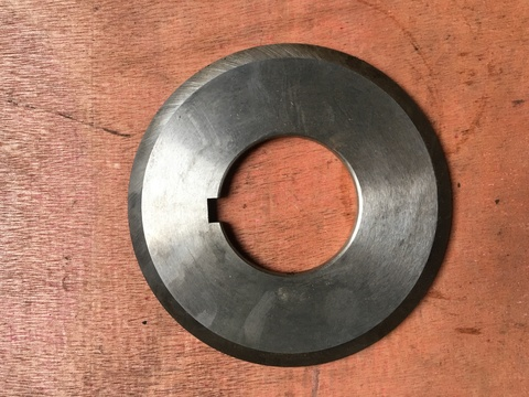 Нож круглый (глубокопроникающий для брони) для станка MS-120 и правого блока станка CR-120-7