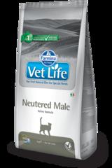 Ветеринарный корм для кастрированных котов, FARMINA Vet Life Neutered Male