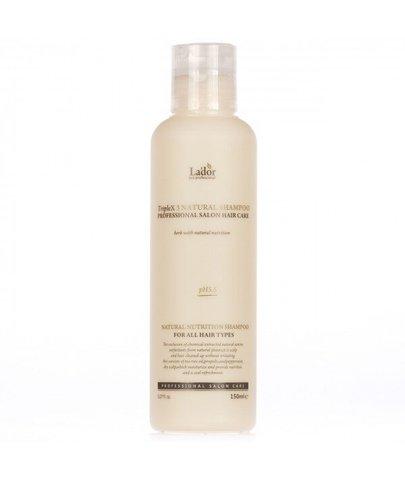 Шампунь с натуральными ингредиентами LA'DOR Triplex Natural Shampoo 150мл