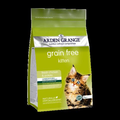 Arden Grange Kitten Сухой корм для котят Курица и Картофель беззерновой