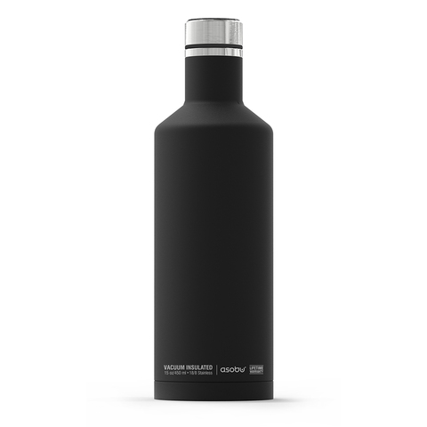 Термос-бутылка Asobu Times square (0,45 литра), черная