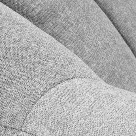 Кресло Off светло-серое