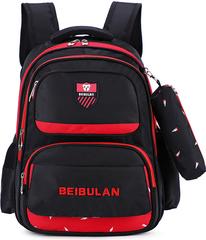 Рюкзак школьный Beibulan 1675 Черный + Пенал