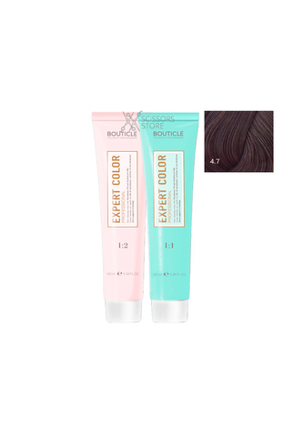 Expert Color Hair Color Cream 4/7 темный шоколад 100 мл