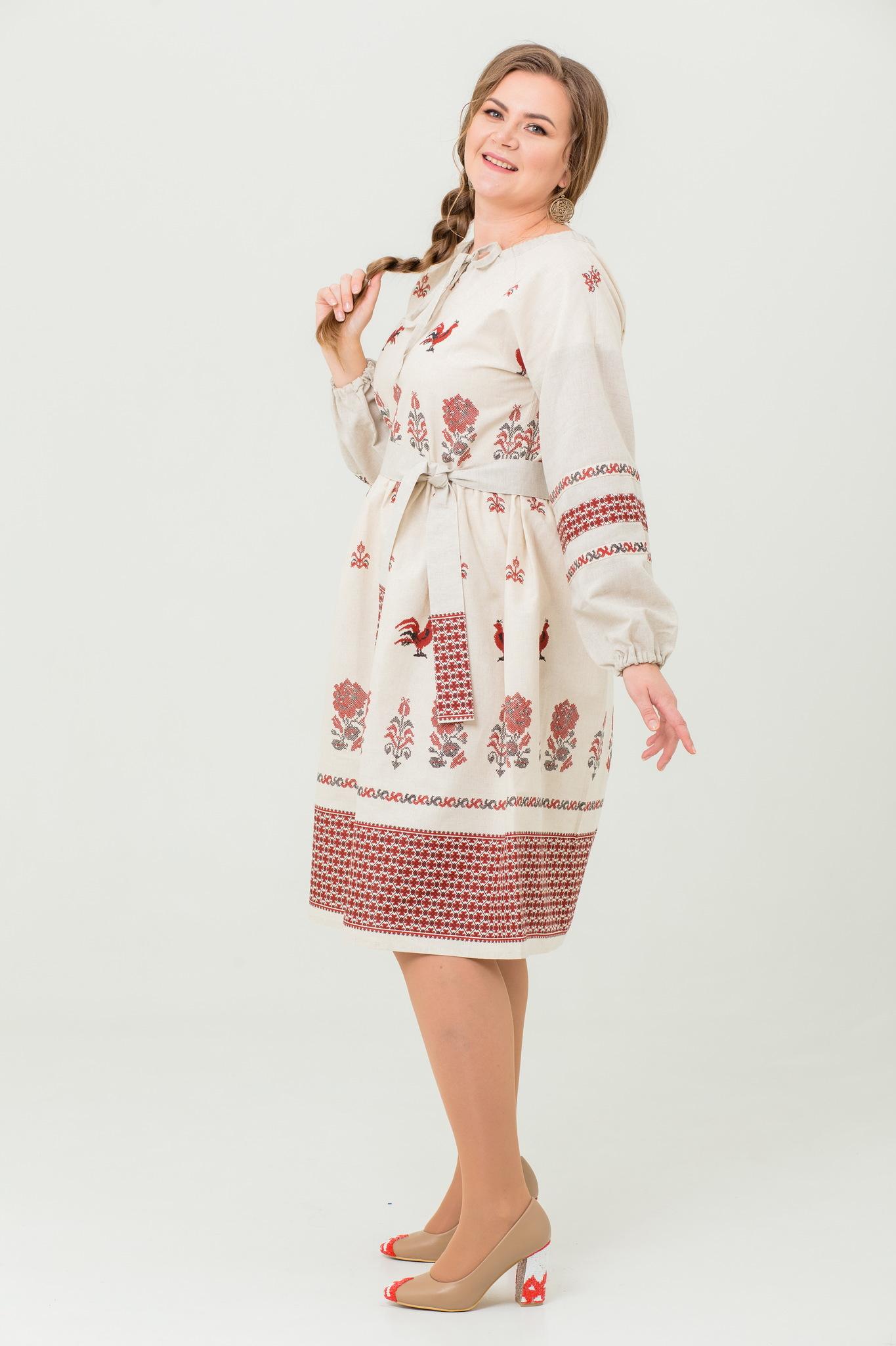 Славянское платье Вестник зари