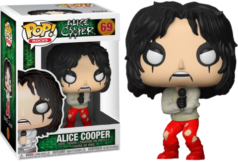 Фигурка Funko Pop! Rocks: Alice Cooper (Excl. to Hot Topic)