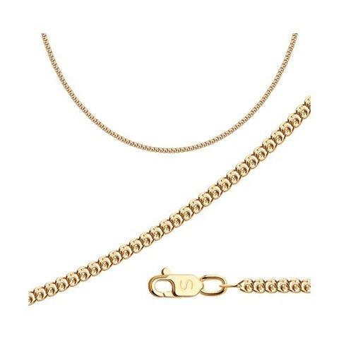 581050302 - Цепь из золота плетение лав