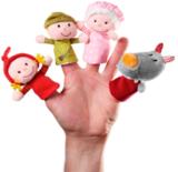 Lilliputiens. Пальчиковые игрушки: Красная шапочка