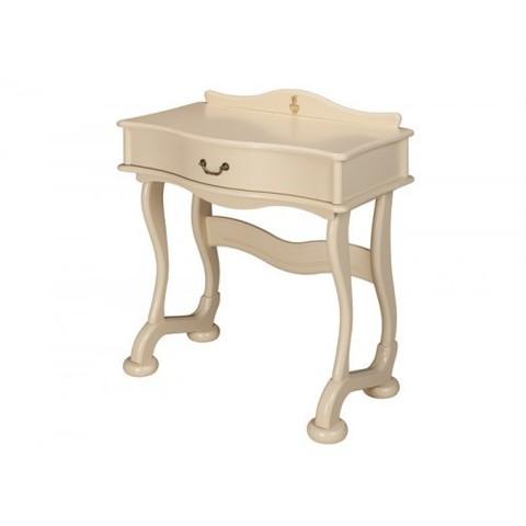 Стол туалетный Джульетта с ящиком деревянный Дик дуб шампань