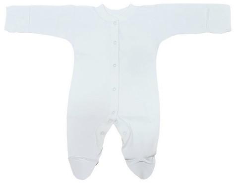 Комбинезон для новорожденного (футер)