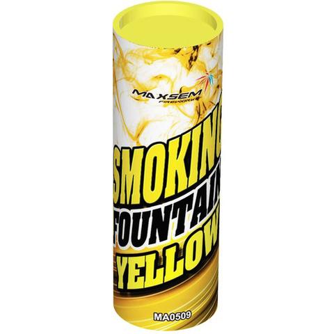 Дымовой фонтан желтый МА0509/Y Maxsem