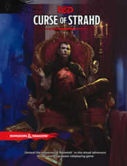 D&D Next: Curse of Strahd book