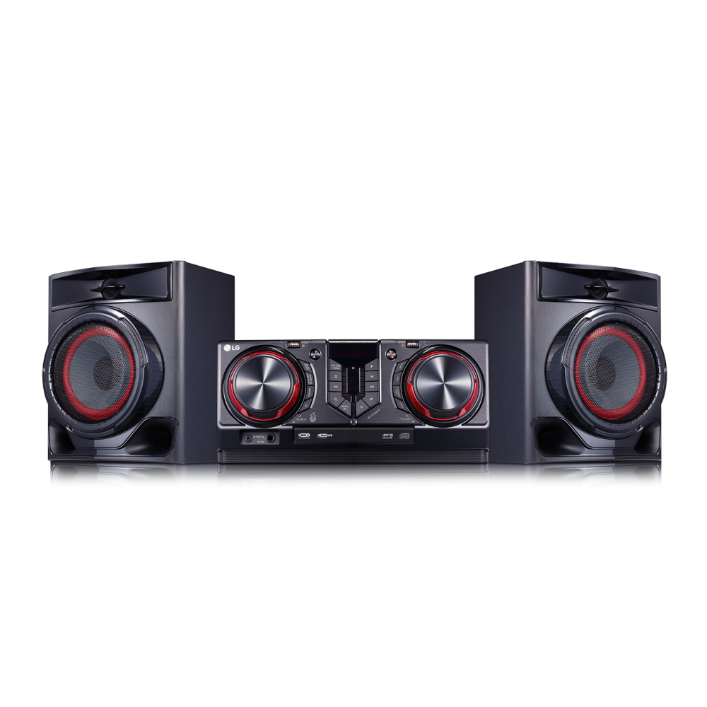 Аудиосистема LG с диджейскими функциями и караоке XBOOM CJ44 фото