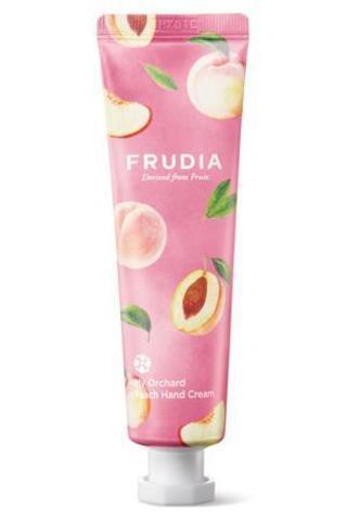 Крем для рук с персиком FRUDIA Squeeze Therapy Peach Hand Cream