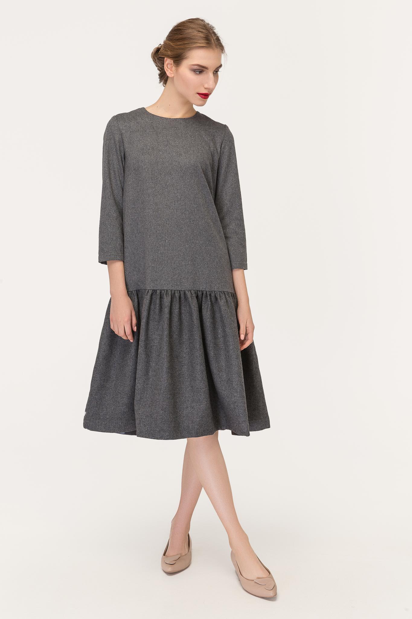 Платье DESIGNER WOOL -последний размер 34