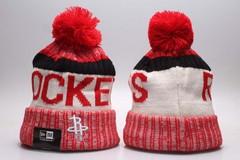 Шерстяная вязаная шапка футбольного клуба Rockets (NFL) с помпоном