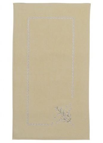 Коврик  махровый с вышивкой для ног 50х90  HAYAL  SOFT COTTON (Турция)