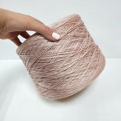 Emilcotoni, Cotone Gasato, Хлопок мерсеризованный 100%, Пыльный светло-розовый, 320 м в 100 г
