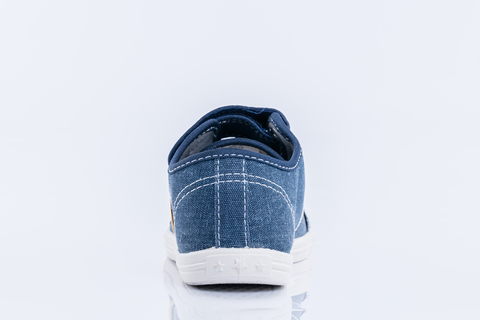 Кеды текстильные синий с бежевым, Котофей (ТРК ГагаринПарк)