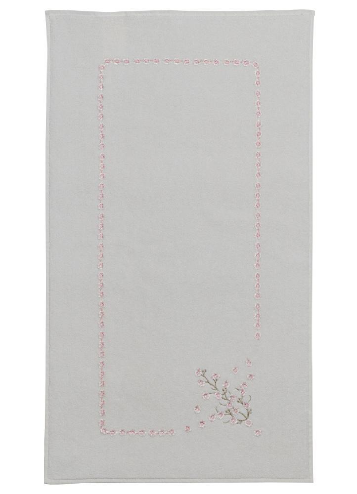 Коврики Коврик  махровый с вышивкой для ног 50х90  HAYAL  SOFT COTTON (Турция) HAYAL_кр.jpg
