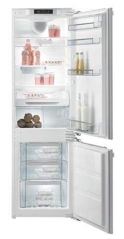Встраиваемый двухкамерный холодильник Gorenje NRKI5181LW