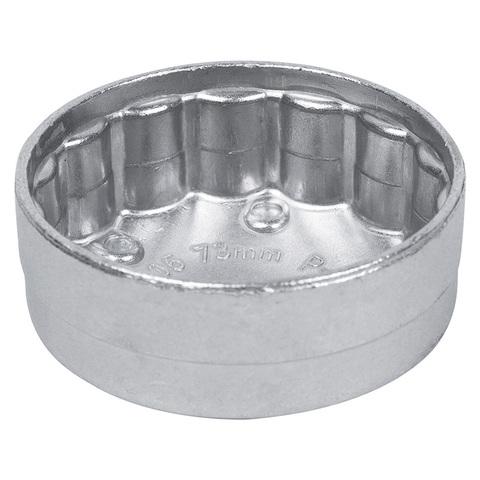 МАСТАК (103-44135) Съемник масляных фильтров, 73 мм, 15 граней, торцевой