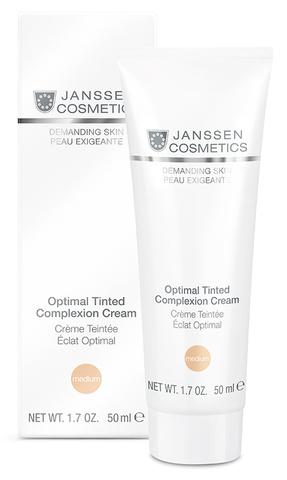 Дневной крем «Оптимал Комплекс» (SPF 10) Janssen Optimal Tinted Complexion Cream, 50 мл.