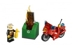 Lego Город Пожарный на мотоцикле (60000)
