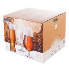 Набор бокалов для пива Crystalite Bohemia Beer 680 мл (2 шт), 630 мл (2 шт), 550 мл (2 шт), фото 2
