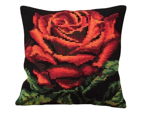 Подушка для вышивания Роза