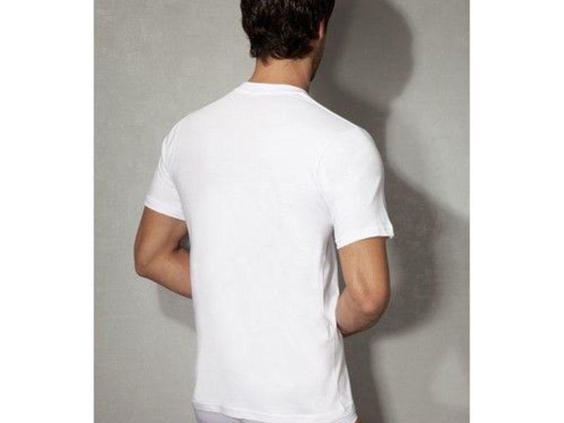 Мужская футболка белая из натурального хлопка Doreanse 2505