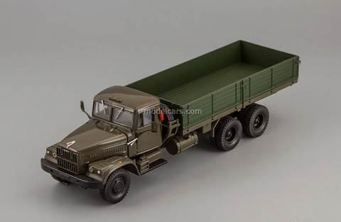 KRAZ-257B 1969-1977 khaki 1:43 Nash Avtoprom
