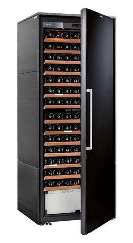 Винный шкаф EuroCave D Collection L чёрный, сплошная дверь, максимальная комплектация
