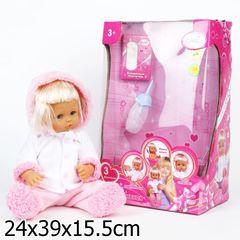 Карапуз Кукла в зимней одежде, пьет, текут сопельки (162857 (B865542-R))