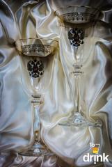 Подарочный набор из 2 хрустальных фужеров под вино «Парламент», 250 мл, фото 2