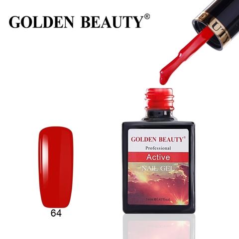 Гель лак Golden Beauty  14 ml, Active
